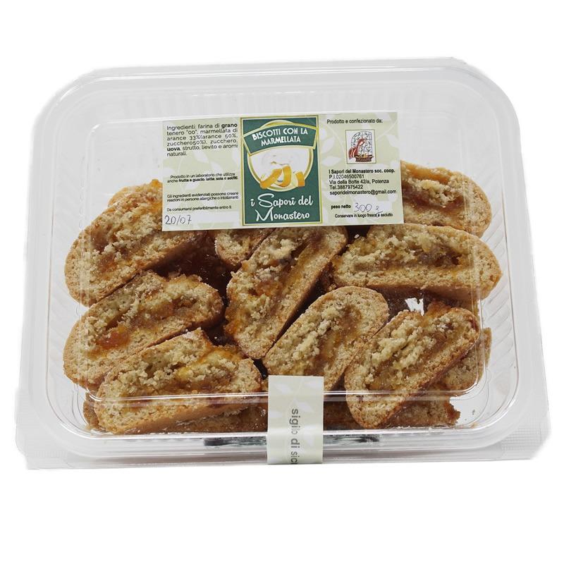 Biscotti alla marmellata Monastero Santa Chiara Potenza